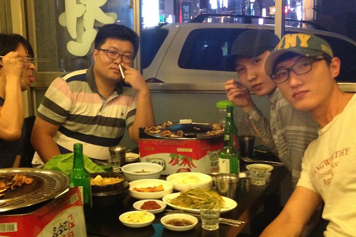 [회식] 8월 기획팀, 급행회식
